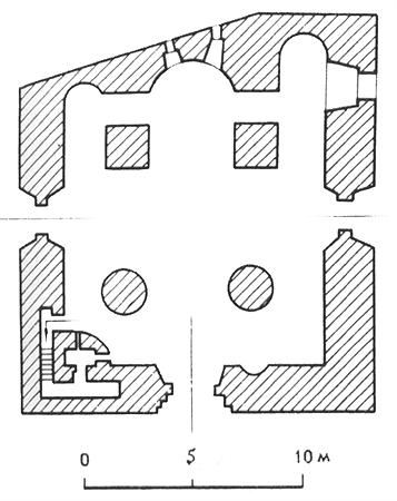Plan of the Church of Our Lady's Nativity of 1393-1394