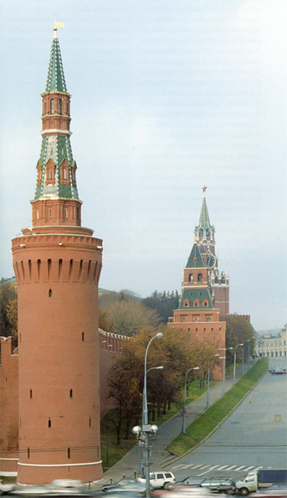 The Beklemishev (Moskvoretskaya) Tower. View from the south-east