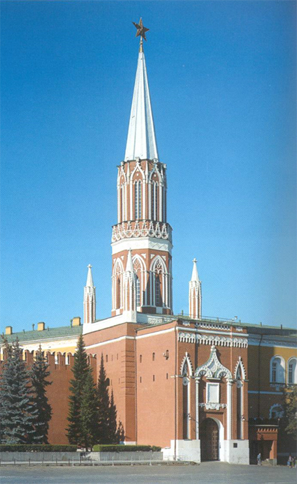 The St. Nicholas (Nikolskaya) Tower