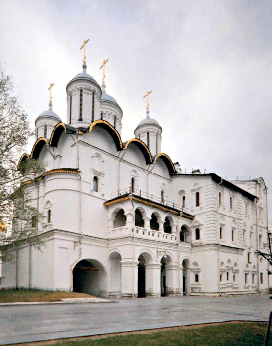 The Patriarch`s Palace and the Twelve Apostles` Church